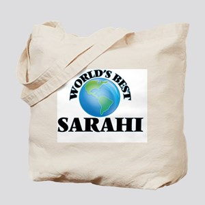 World's Best Sarahi Tote Bag